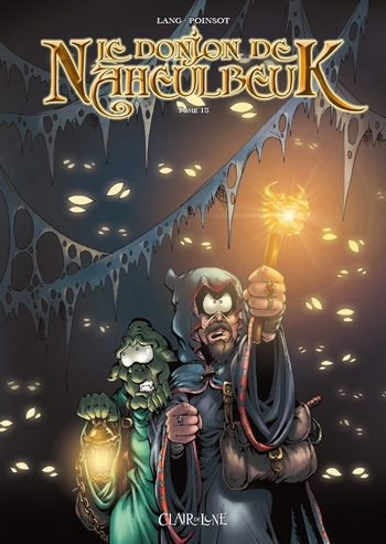 Couverture Le donjon de Naheulbeuk (BD), tome 18 : Cinquième saison, partie 5