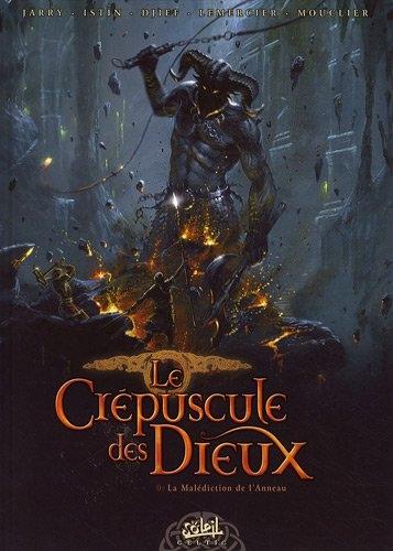 Couverture Le Crépuscule des dieux, tome 0 : La Malédiction de l'Anneau