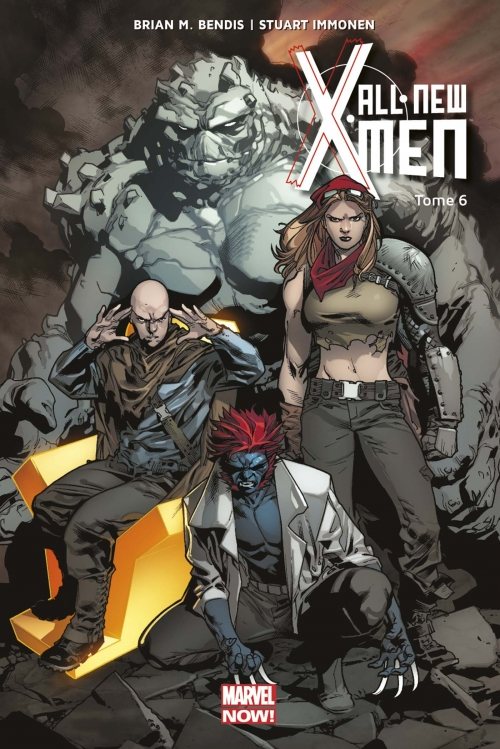 Couverture  « All-New X-Men (Marvel Now), tome 6 : Un de moins » de Brian Michael Bendis et Stuart Immonen
