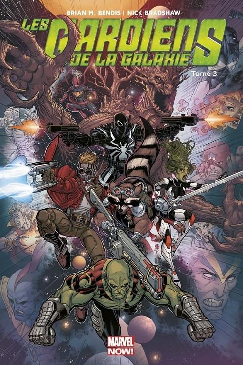 Couverture Les gardiens de la galaxie (Marvel Now), tome 3 : La fin des gardiens