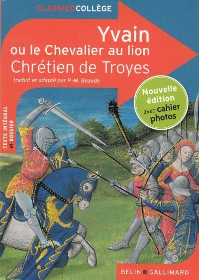 Couverture Yvain, le chevalier au lion / Yvain ou le chevalier au lion