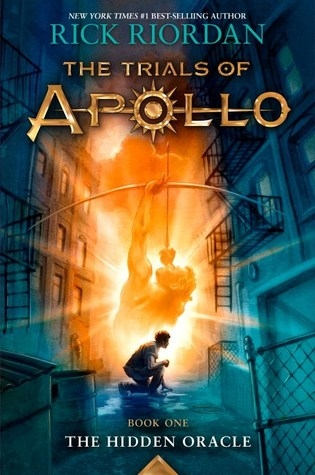 Couverture The Trials of Apollo, book 1: The Hidden Oracle