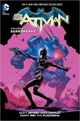 Couverture Batman (New 52), book 08: Superheavy