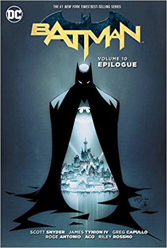 Couverture Batman (New 52), book 10: Epilogue