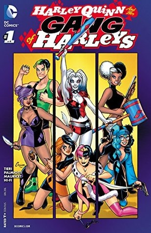 Couverture Harley Quinn & Her Gang of Harleys, book 01