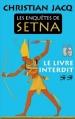 Couverture Les enquêtes de Setna, tome 2 : Le livre interdit Editions France Loisirs (Romans historiques) 2015