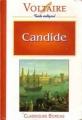 Couverture Candide / Candide ou l'optimisme Editions Bordas (Classiques) 1994