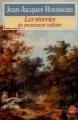 Couverture Rêveries du promeneur solitaire  Editions Le Livre de Poche 1983