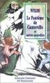 Couverture Le fantôme de Canterville et autres contes / Le fantôme de Canterville et autres nouvelles Editions Flammarion (GF - Etonnants classiques) 1996