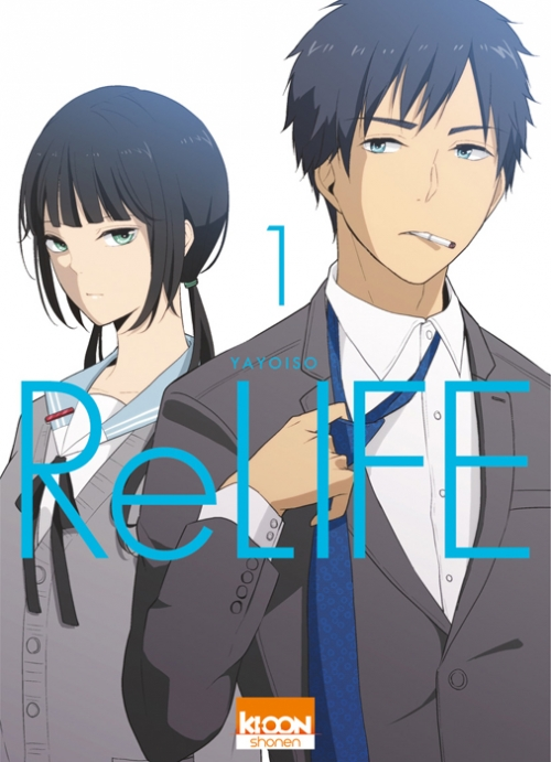 Couverture ReLIFE, tome1