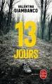 Couverture 13 jours Editions Le Livre de Poche (Thriller) 2016