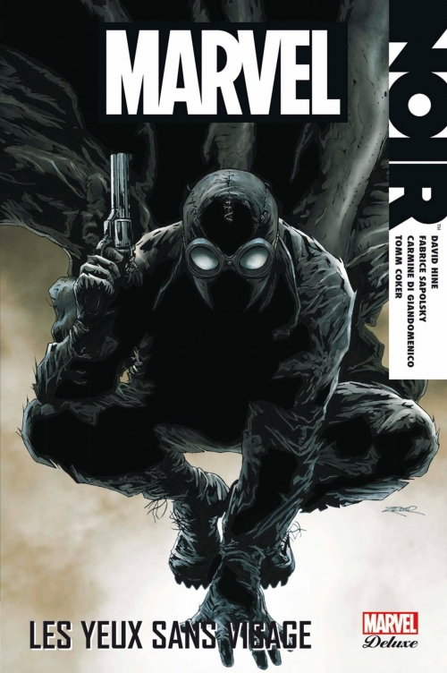 Couverture Marvel Noir : Les yeux sans visages