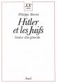 Couverture Hitler et les juifs : genèse d'un génocide Editions Seuil 1989