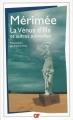 Couverture La Vénus d'Ille et autres nouvelles Editions Flammarion (GF) 2007