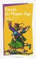 Couverture Farces du Moyen-Âge Editions Flammarion (GF - Bilingue) 1984