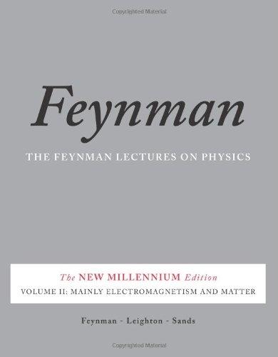 Couverture Le cours de physique de Feynman, tome 2 : Electromagnétisme