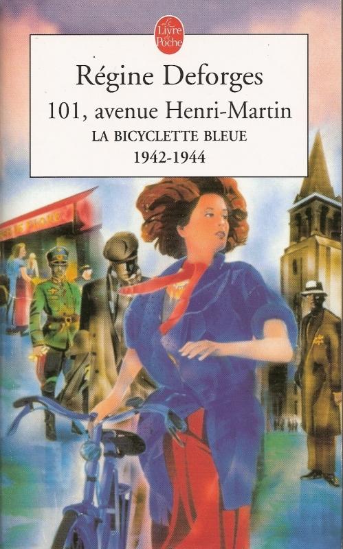 Couverture La Bicyclette bleue, tome 02 : 101, avenue Henri-Martin
