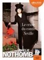 Couverture Le crime du comte Neville Editions Audiolib 2015