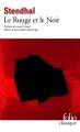 Couverture Le Rouge et le Noir Editions Folio  (Classique) 2014