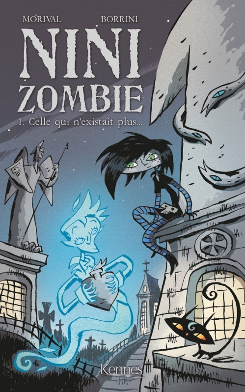 Couverture Nini Zombie, tome 1 : Celle qui n'existait plus