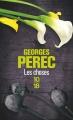 Couverture Les choses Editions 10/18 (Domaine français) 2005