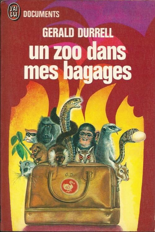 Couverture Un zoo dans mes bagages
