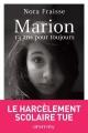 Couverture Marion, 13 ans pour toujours Editions France Loisirs 2015