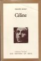 Couverture Céline Editions Seuil (Tel Quel) 1981