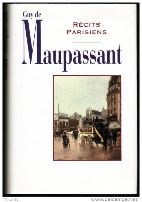 Couverture Récits Parisiens