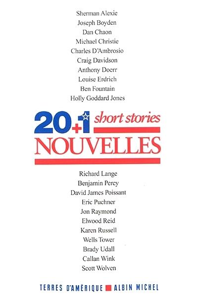 Couverture 20+1 short stories