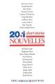 Couverture 20+1 short stories Editions Albin Michel (Terres d'Amérique) 2016