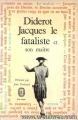 Couverture Jacques le fataliste  Editions Le livre de poche (Classique) 1959