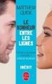 Couverture Le bonheur entre les lignes Editions Le Livre de Poche 2016