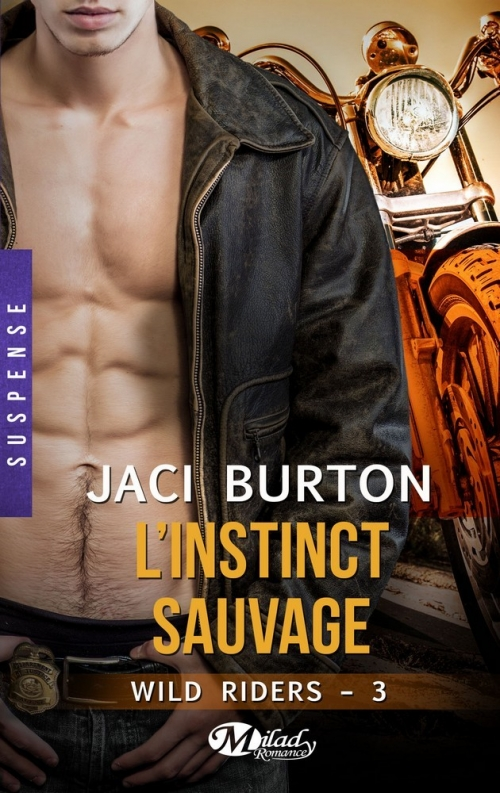 Couverture Wild riders,tome 3 : L'instinct sauvage