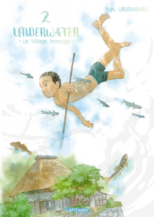 Couverture Underwater : Le village immergé, tome 2