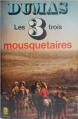 Couverture Les trois mousquetaires Editions Le Livre de Poche 1974