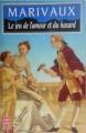 Couverture Le jeu de l'amour et du hasard Editions Le Livre de Poche 1985