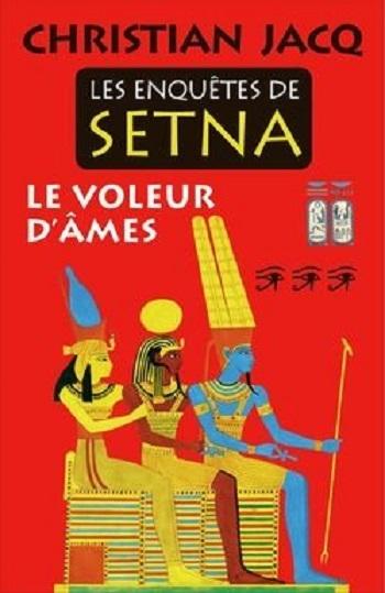 Couverture Les enquêtes de Setna, tome 3 : Le voleur d'âmes