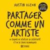 Couverture Partager comme un artiste Editions De l'homme 2014