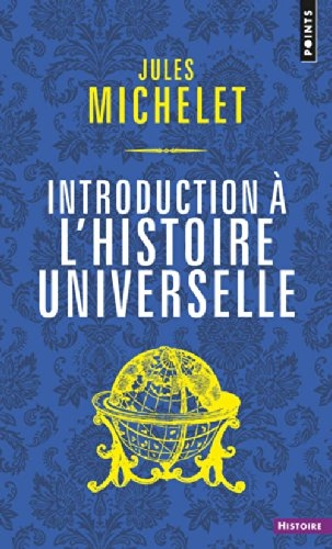 Couverture Introduction à l'histoire universelle
