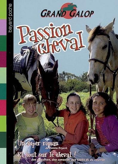 Couverture Passion cheval