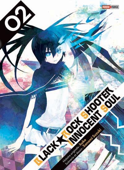Couverture Black Rock Shooter Innocent Soul, tome 2