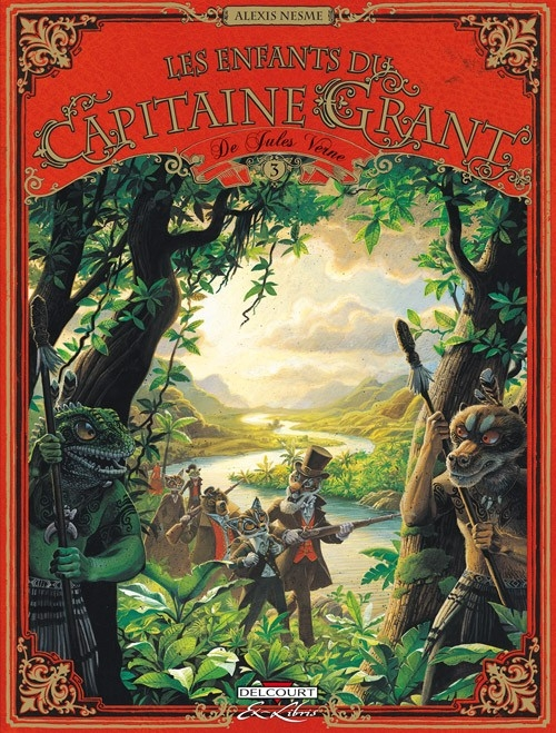 Couverture Les enfants du capitaine Grant, tome 3