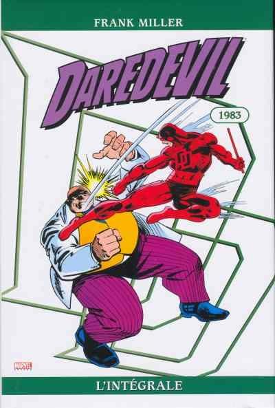 Couverture Daredevil, intégrale, tome 19 : 1983