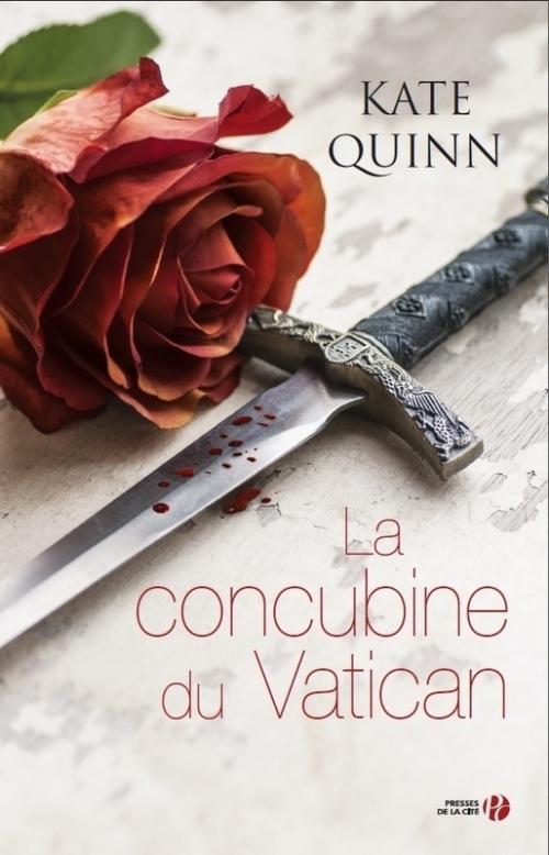 Couverture La concubine du Vatican