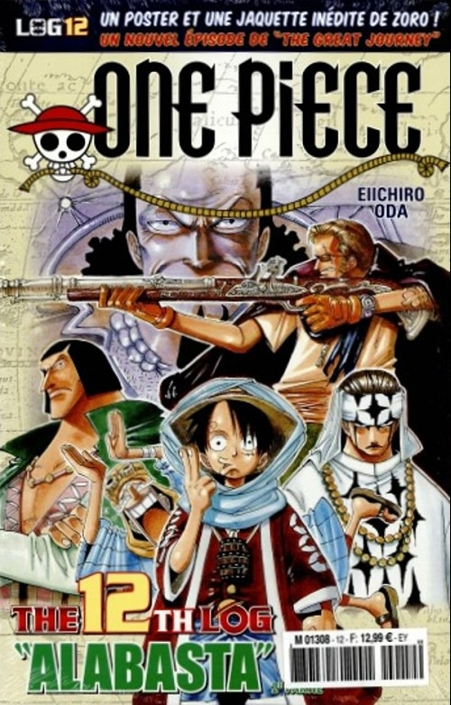 Couverture One Piece, Log, tome 12
