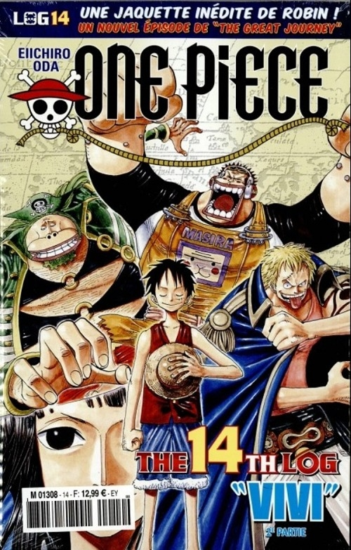 Couverture One Piece, Log, tome 14
