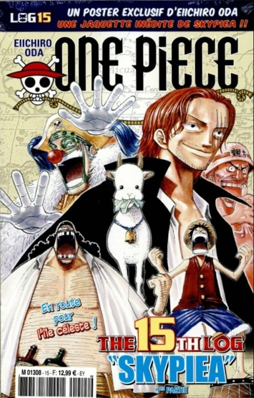Couverture One Piece, Log, tome 15