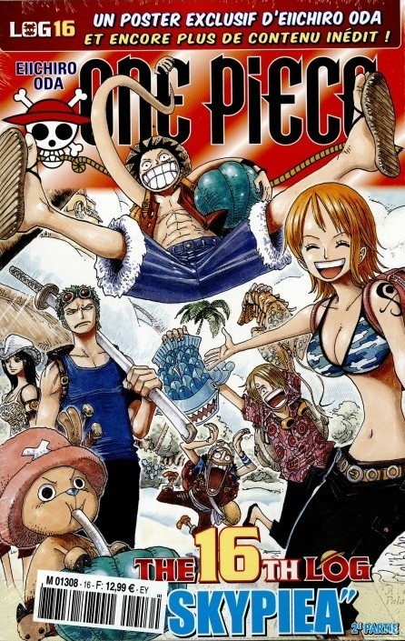 Couverture One Piece, Log, tome 16