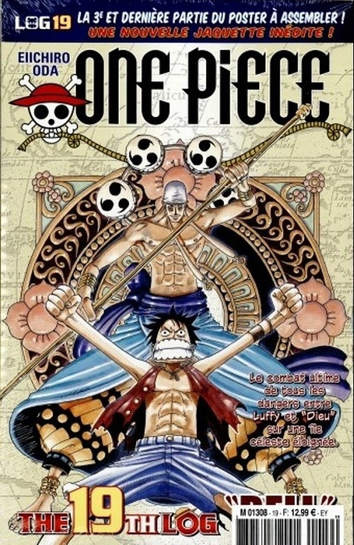 Couverture One Piece, Log, tome 19